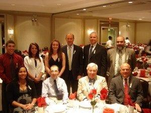 Bristol Tramps Honorees and Scholarship winners 2010 (photo by C. Savino)